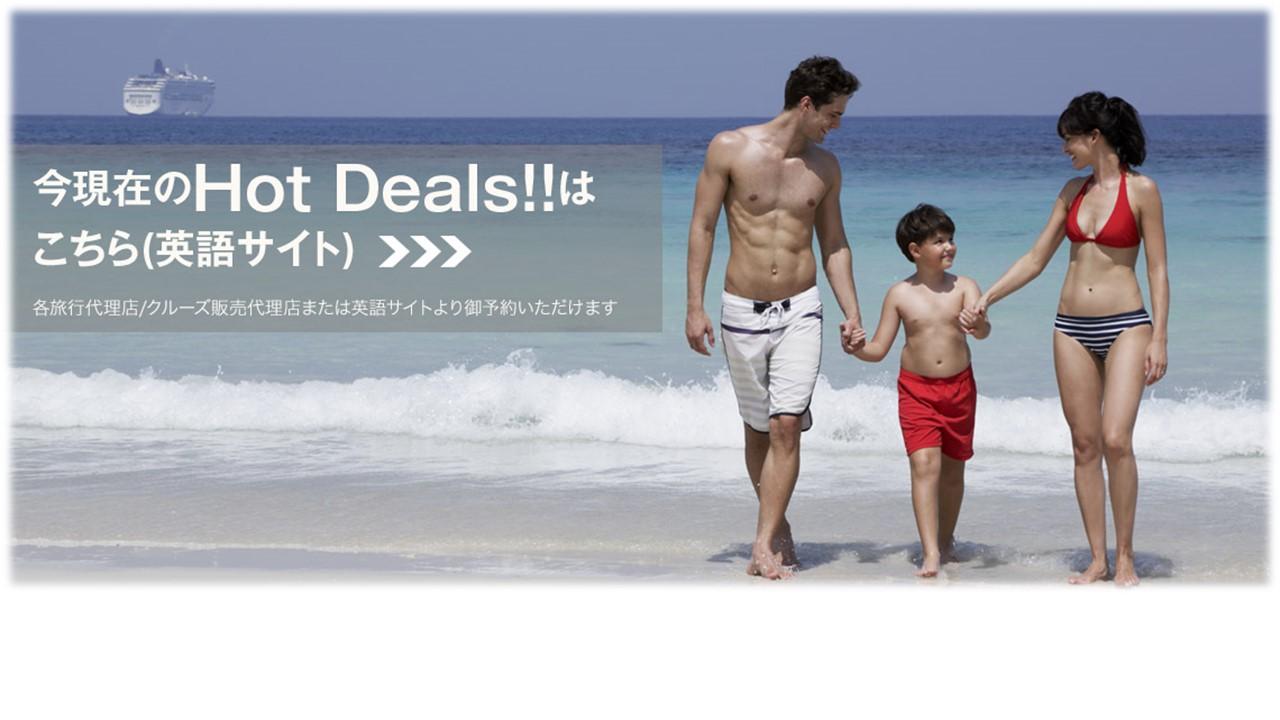 今現在のHot Deals!!はこちら(英語サイト)